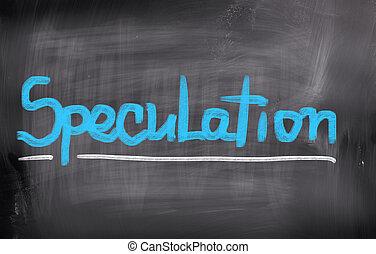 especulación, concepto