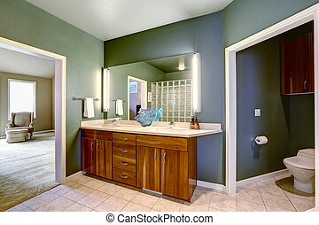 espejo cuarto baño, vanidad, gabinete