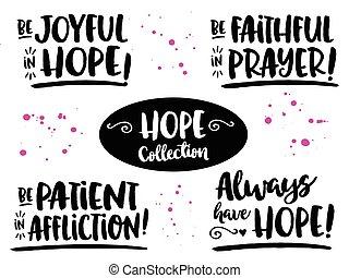 esperança, bíblia, scripture, frases, cobrança