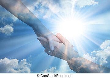 esperança, de, paz
