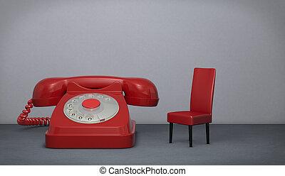 esperar, llamada