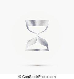 esperar, reloj de arena