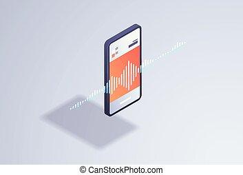 esperto, inteligência artificial, mensagem voz, gravando,...