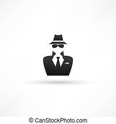 espião, ícone