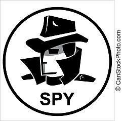 espião, agente