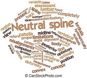 espina dorsal, neutral