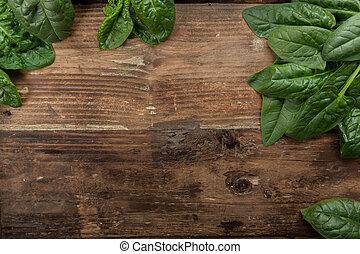 espinafre fresco