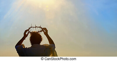 Espinas, corona, Cristo,  Jesús