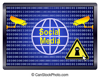 espion,  Social,  média