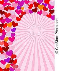 espiral, de, amor