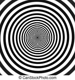 espiral, hipnótico