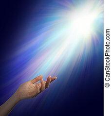 espiritual, buscar, dirección