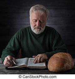 espiritual, material, alimento