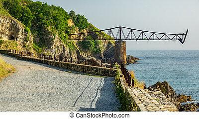 Esplanade towards old run-down iron loading bay - Esplanade ...