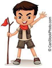 esploratore ragazzo