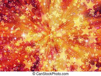 esplosione, spazio, fuoco, scoppio, sfondi, luminoso, stelle, velocità