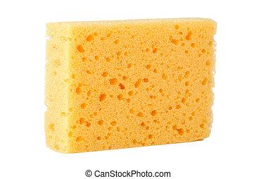 esponja, amarillo