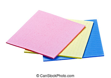 esponja, celulosa, tres