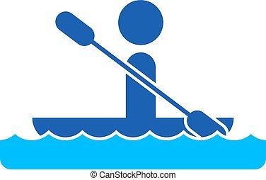 esporte água, ícone