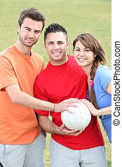 esportes, jovens