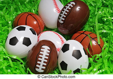 esportes, ovos