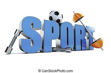 esportes, palavra
