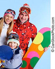 esportiva, família