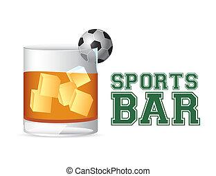 sports bar - esports bar design over white background vector...