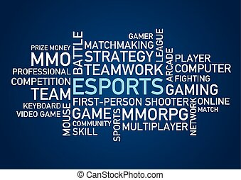 esports, palavras