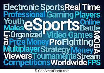 eSports Word Cloud