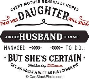 esposa, el suyo, grande, did, padre