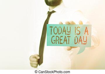 esposizione, concettuale, note, oggi, day., showcasing, espressione, scrittura, willingness, content., differente, affari, mano, grande, dare risalto, pari, visualizzazione, colorare, ansia, foto