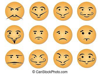 espressioni, facciale