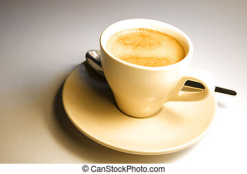 Espresso - A cup of coffee
