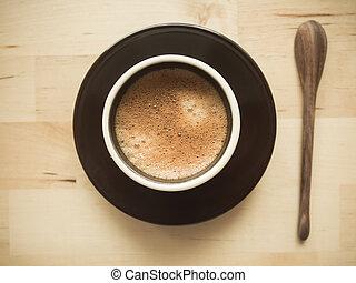 Espresso coffee cup.