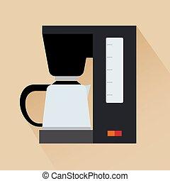 Espresso coffee machine icon
