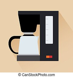 Espresso coffee machine icon