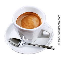 espresso, filiżanka