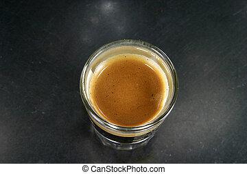 espresso, tiro