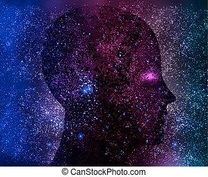 esprit, cosmique, galactique