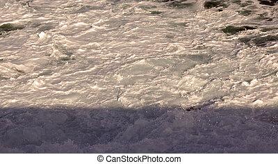 espuma mar