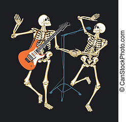 esqueleto, concerto