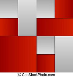 esquema, vermelho