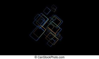 esquissé, rectangles