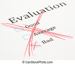 essai, évaluation