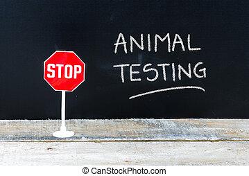 essai, arrêt, écrit, tableau, animal, message