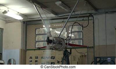 essai, avion hélice