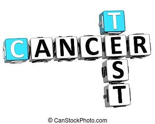 essai, mots croisés, cancer, 3d