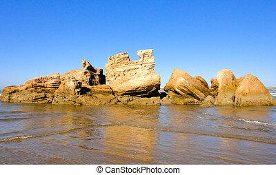 Essaouira ancient fortress ruins