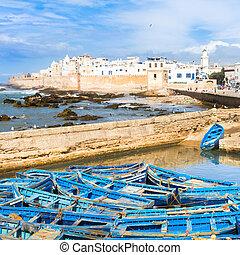 essaouira, -, magador, marrakech, morocco.